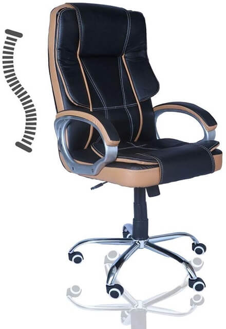 Series Leatherette Office Chair