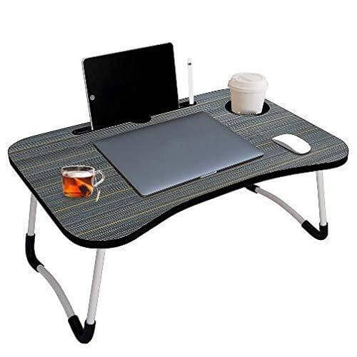 VVE Vovalona Multipurpose Foldable Laptop Table with Cup Holder,